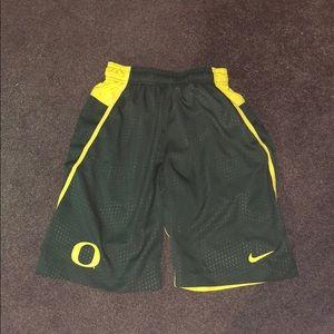 Nike Oregon Ducks shorts!